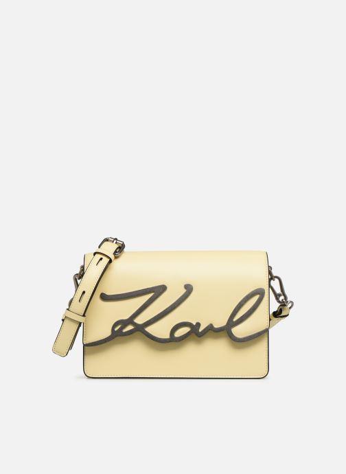 Borse KARL LAGERFELD k/signature shoulderbag Giallo vedi dettaglio/paio