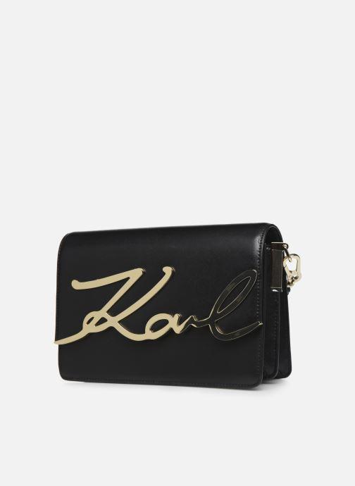 Sacs à main Karl Lagerfeld k/signature shoulderbag Noir vue portées chaussures