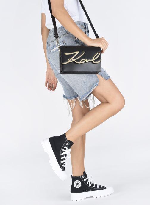 Sacs à main Karl Lagerfeld k/signature shoulderbag Noir vue bas / vue portée sac