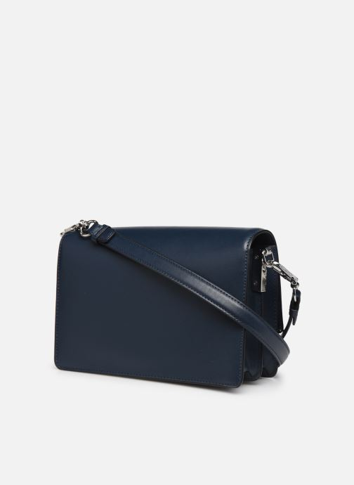Handtassen Karl Lagerfeld k/signature shoulderbag Blauw rechts