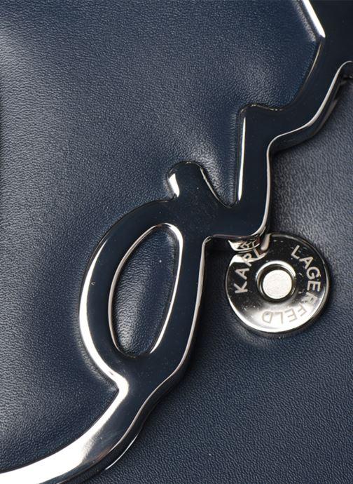 Handtassen Karl Lagerfeld k/signature shoulderbag Blauw links