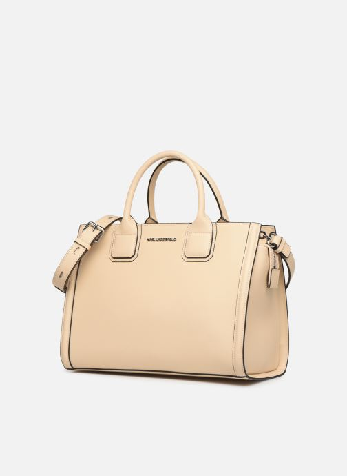 Handtassen Karl Lagerfeld k/klassik tote Roze model
