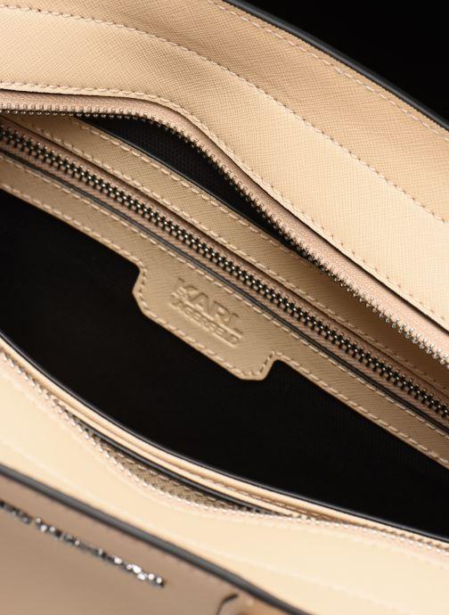 Handtassen Karl Lagerfeld k/klassik tote Roze achterkant