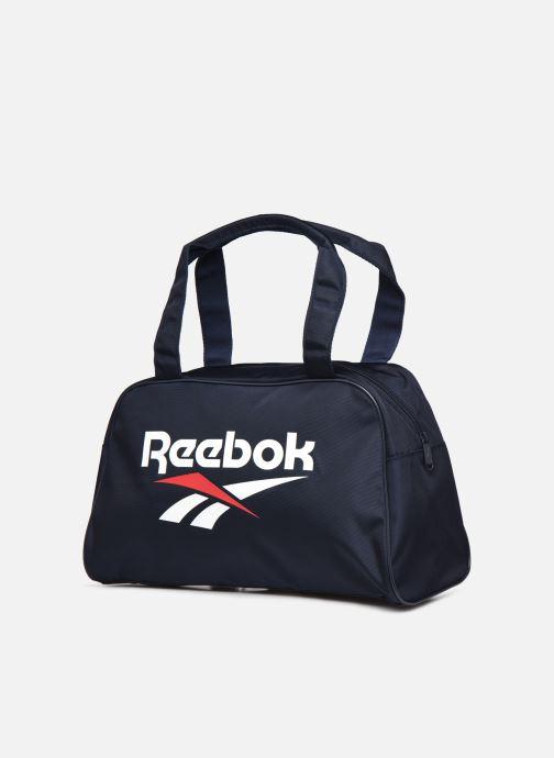 Bolsas de deporte Reebok CL FO Duffle Negro vista del modelo