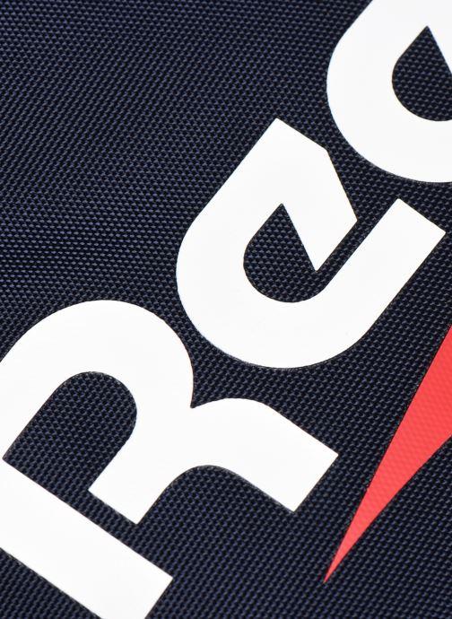 Sporttaschen Reebok CL FO Duffle schwarz ansicht von links