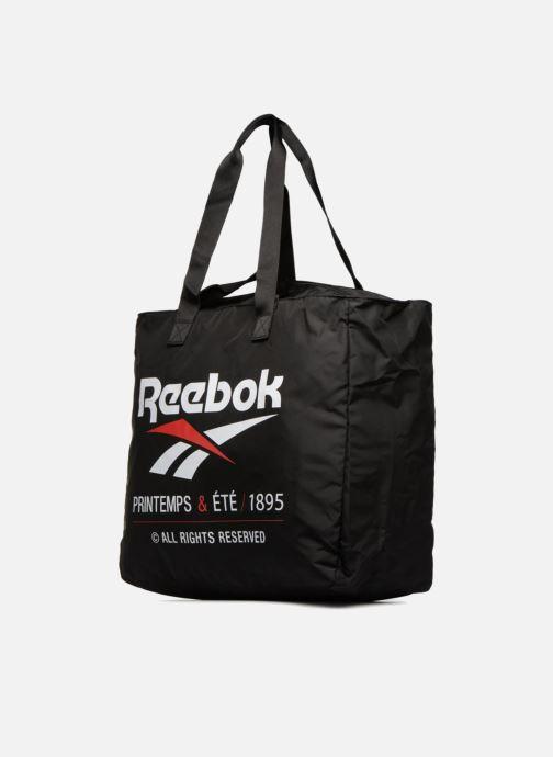 Bolsos de mano Reebok CL tote Negro vista del modelo