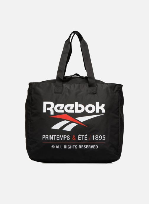 Handtassen Reebok CL tote Zwart detail