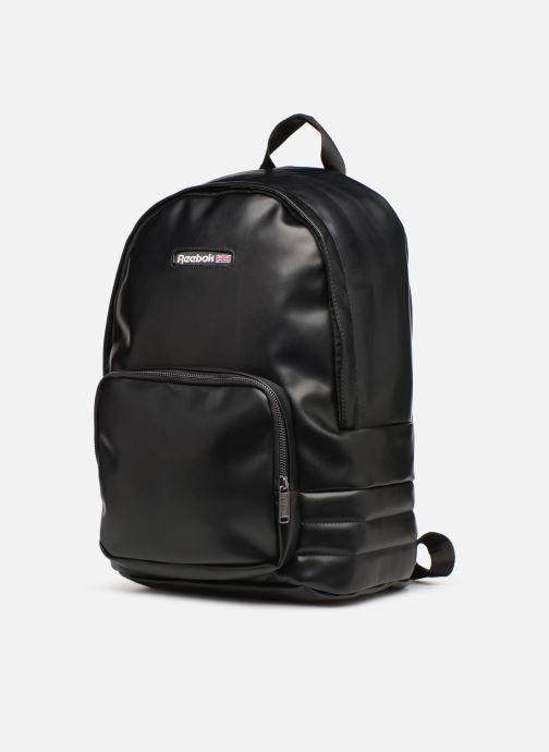 Zaini Reebok CL Freestyle Backpack Nero modello indossato