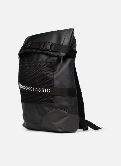 Sacs à dos Reebok CL OPS Strap Backpack Noir vue portées chaussures