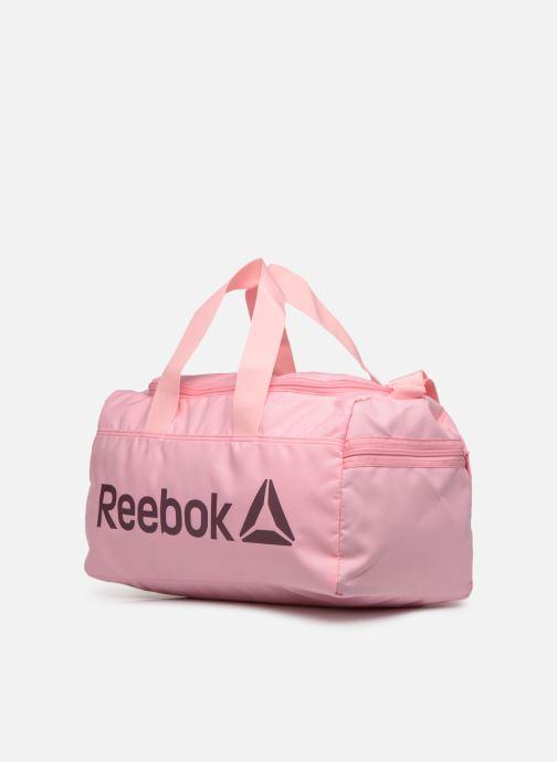 Bolsas de deporte Reebok ACT CORE S GRIP Rosa vista del modelo