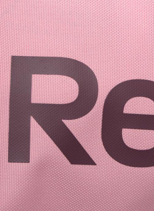 Bolsas de deporte Reebok ACT CORE S GRIP Rosa vista lateral izquierda