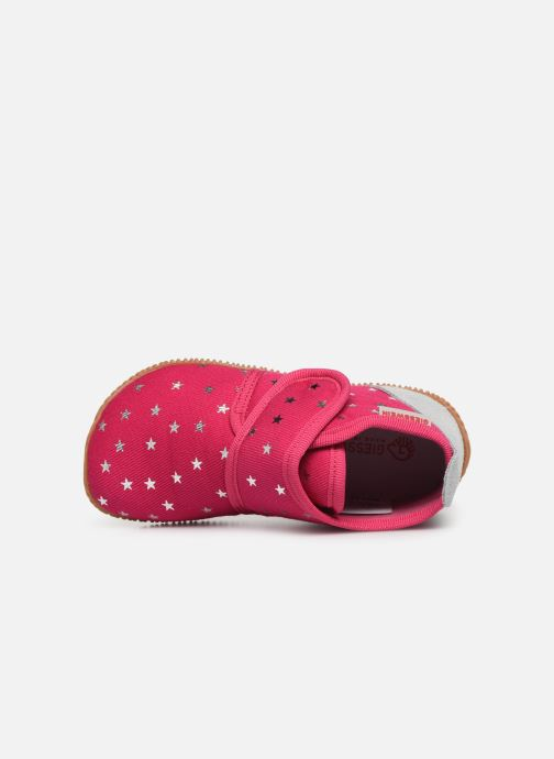 Slippers Giesswein Salsach Pink view from the left