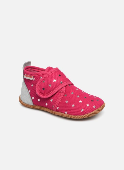 Slippers Giesswein Salsach Pink detailed view/ Pair view