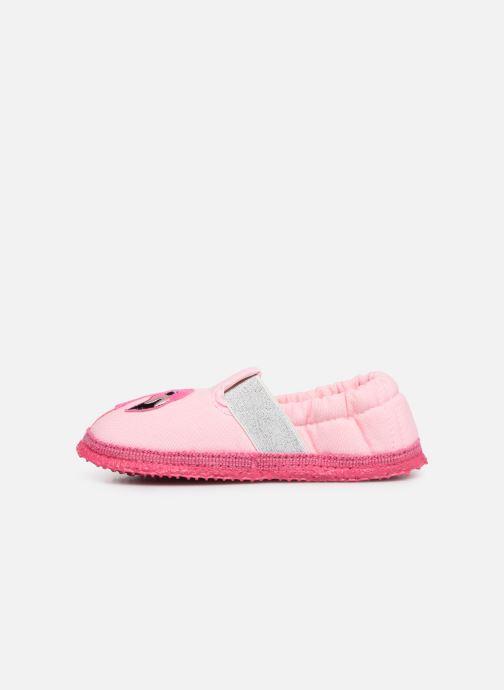 Slippers Giesswein Alkersum Pink front view