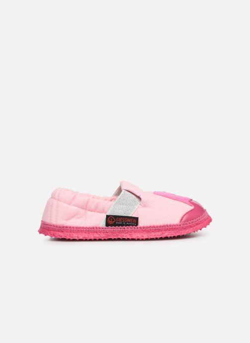 Slippers Giesswein Alkersum Pink back view