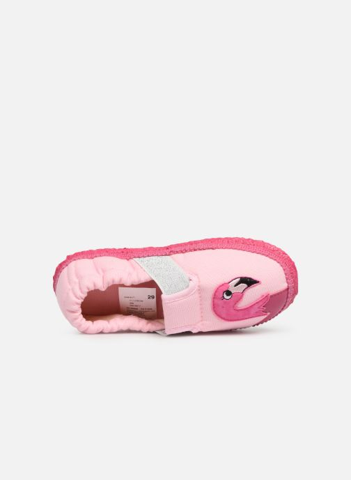 Slippers Giesswein Alkersum Pink view from the left