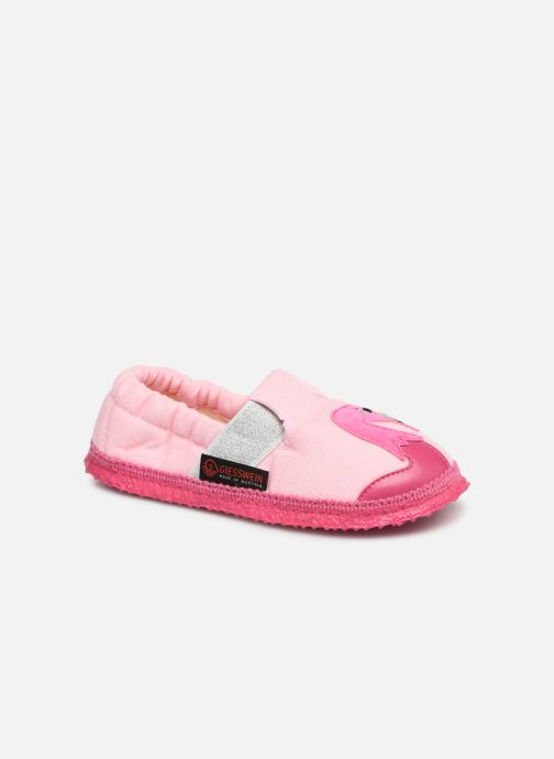 Slippers Giesswein Alkersum Pink detailed view/ Pair view