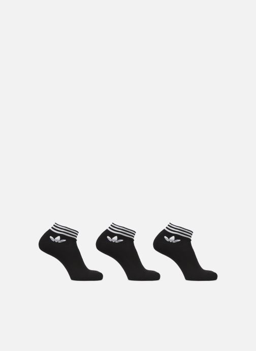 Sokken en panty's adidas originals TREFOIL ANK STR 3P Zwart detail