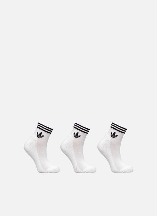 Calze e collant adidas originals TREFOIL ANK STR 3P Bianco vedi dettaglio/paio