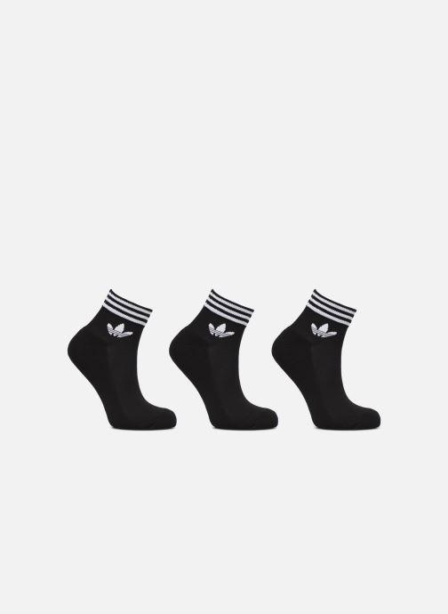 Chaussettes et collants adidas originals TREFOIL ANK STR 3P Noir vue détail/paire