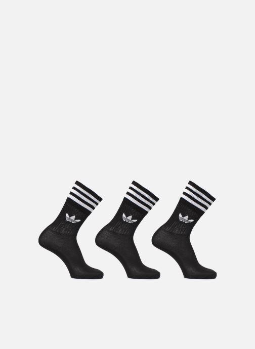 Chaussettes et collants adidas originals SOLID CREW SOCK 3P Noir vue détail/paire