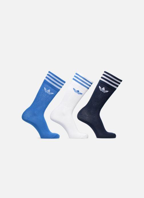 Chaussettes et collants adidas originals SOLID CREW SOCK 3PP Bleu vue détail/paire