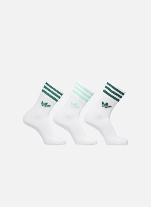 chaussette adidas original blanc & turquoise