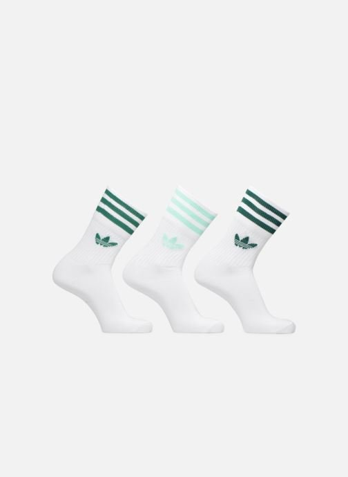 Socken & Strumpfhosen adidas originals MID CUT SOLID CREW SOCKS 3PP weiß detaillierte ansicht/modell
