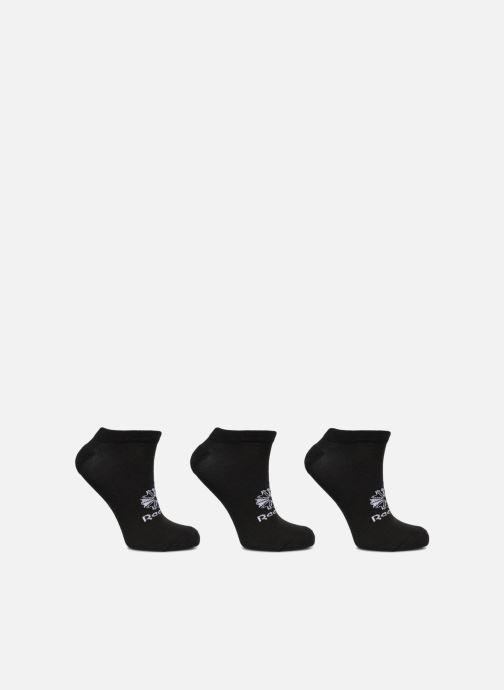 Strømper og tights Reebok NO SHOW SOCK 3P Sort detaljeret billede af skoene