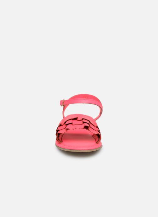 Sandales et nu-pieds Billieblush ALICE Rose vue portées chaussures
