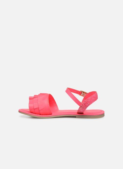 Sandales et nu-pieds Billieblush ALICE Rose vue face