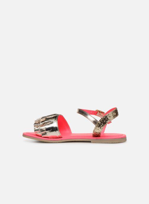 Sandales et nu-pieds Billieblush ALICE Or et bronze vue face