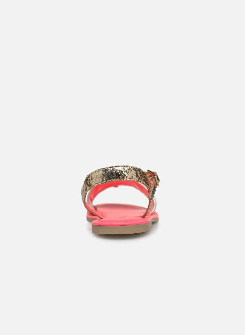 Sandales et nu-pieds Billieblush ALICE Or et bronze vue droite
