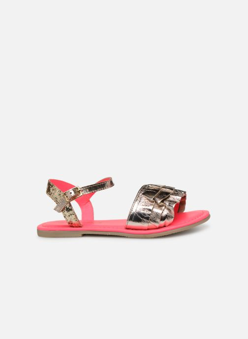 Sandales et nu-pieds Billieblush ALICE Or et bronze vue derrière