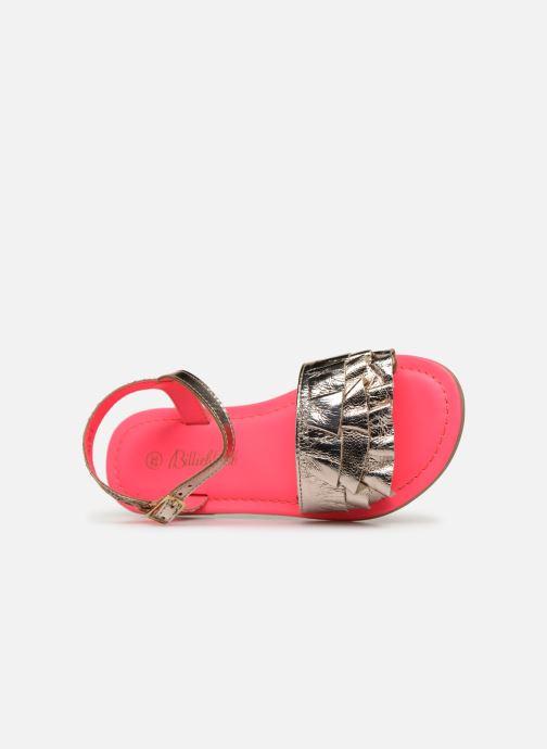Sandales et nu-pieds Billieblush ALICE Or et bronze vue gauche