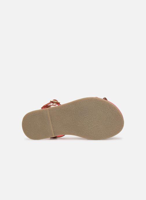 Sandales et nu-pieds Billieblush ALICE Or et bronze vue haut