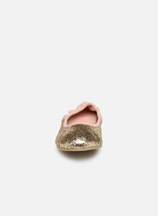Ballerines Billieblush OPERA Or et bronze vue portées chaussures