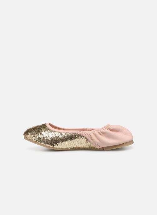 Ballerinaer Billieblush OPERA Guld og bronze se forfra