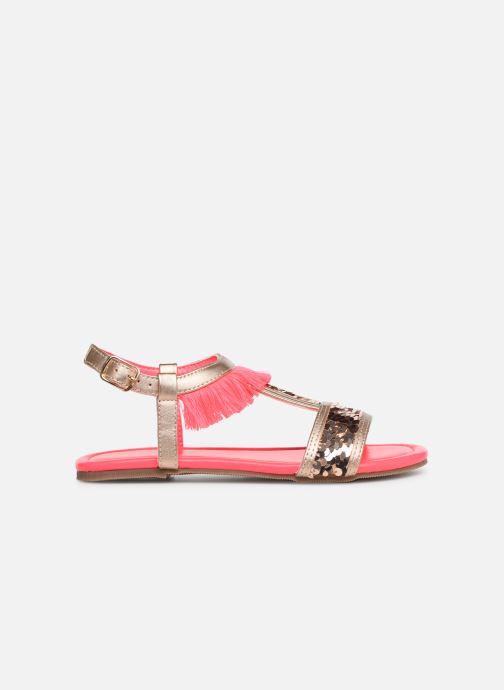 Sandales et nu-pieds Billieblush 5 ETOILES Or et bronze vue derrière