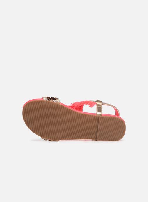 Sandales et nu-pieds Billieblush 5 ETOILES Or et bronze vue haut