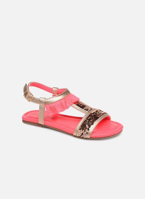 Sandales et nu-pieds Billieblush 5 ETOILES Or et bronze vue détail/paire