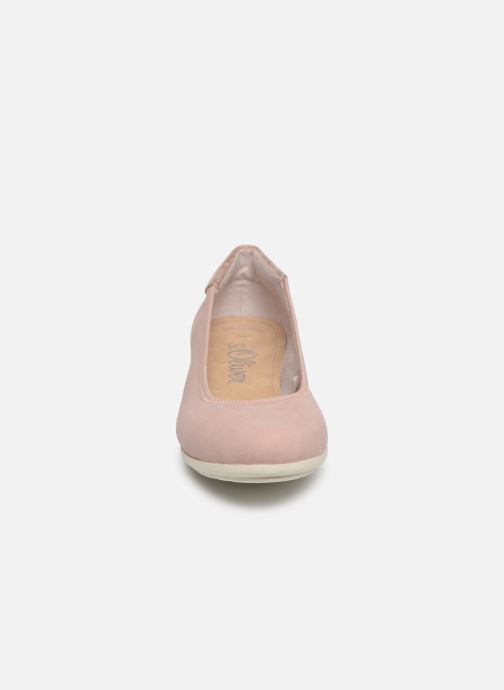Ballerines S.Oliver Zoia Rose vue portées chaussures
