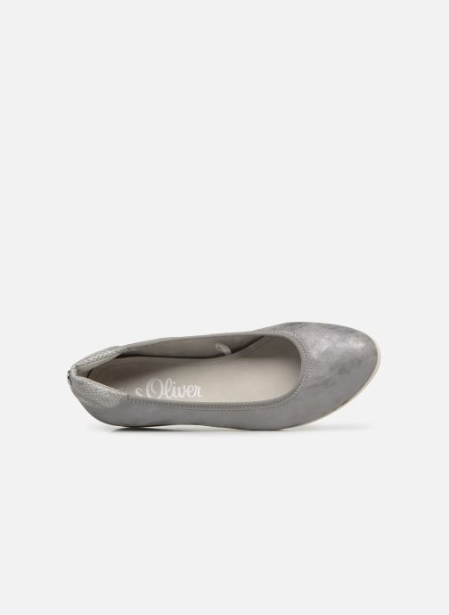 Ballet pumps S.Oliver Zoia Grey view from the left