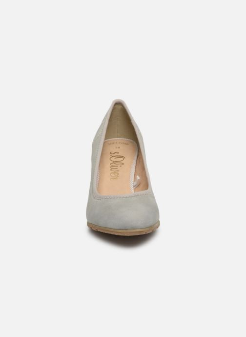 Escarpins S.Oliver Lillya Gris vue portées chaussures