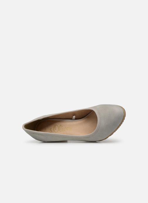 Zapatos de tacón S.Oliver Lillya Gris vista lateral izquierda