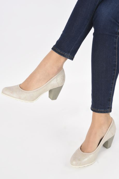 High heels S.Oliver Lillya Beige view from underneath / model view