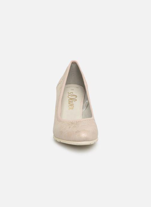 Escarpins S.Oliver Lillya Beige vue portées chaussures