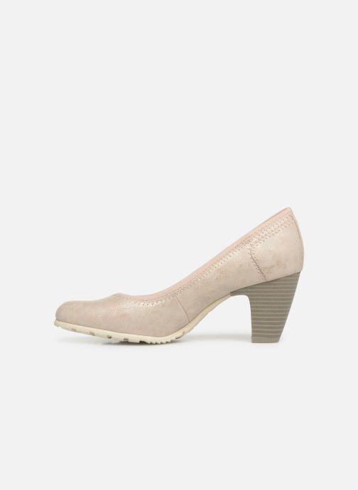 Zapatos de tacón S.Oliver Lillya Beige vista de frente