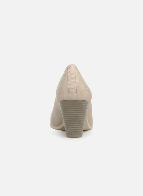 High heels S.Oliver Lillya Beige view from the right