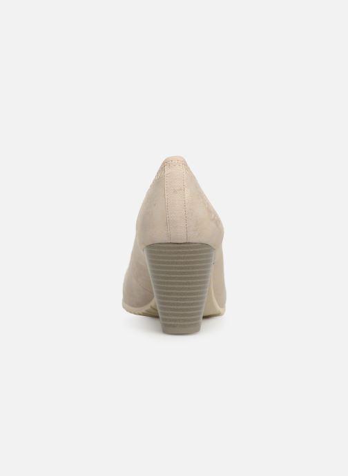 Zapatos de tacón S.Oliver Lillya Beige vista lateral derecha
